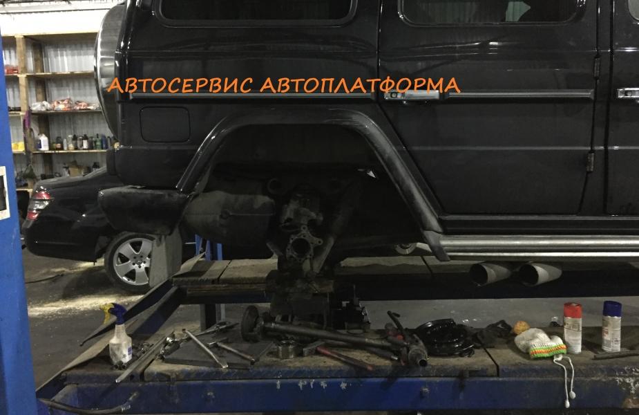 Замена пыльника тормозного диска Мерседес G400 w463