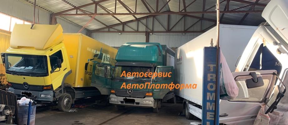 Оборвало резьбу в поддоне грузовика Мерседес Атего